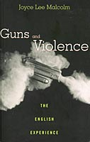 Book cover: Guns and Violence